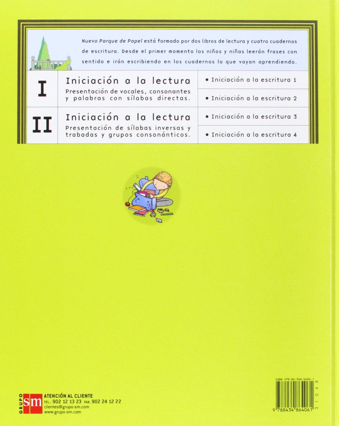 Iniciación a la lectura II. Nuevo parque de papel - 9788434864061:  Amazon.es: María Castillo, Emilio Sanjuán: Libros