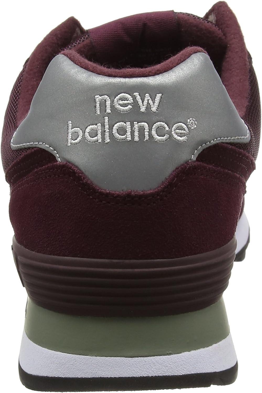 new balance 574 bordeaux uomo