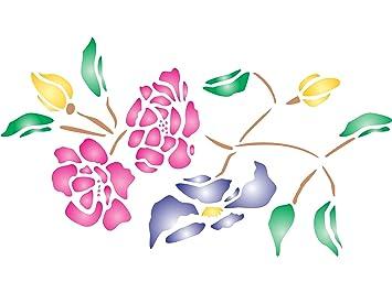 Flores Para Pintar En La Pared Fabulous Fondo De Pantalla Para
