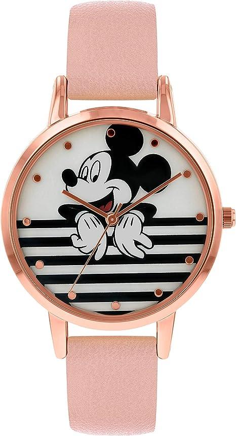 Imagen deDisney Reloj Análogo clásico para Mujer de Cuarzo con Correa en Cuero MK5087