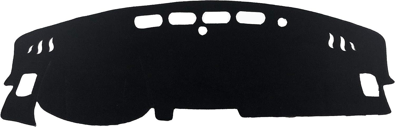 AutofitPro Custom Fit Dashboard Black Center Console Cover Dash Mat Protector Sunshield Cover for 2019 2020 Nissan Altima Sedan