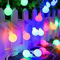 Guirlande lumineuse Multicolore 10M 100 LEDs, 8 Modes Eclairage, Télécommande 13 touches, Imperméable, Convient pour la décoration Extérieure/Intérieure, Sapin Noël, Soirée Fête(Version Améliorer)