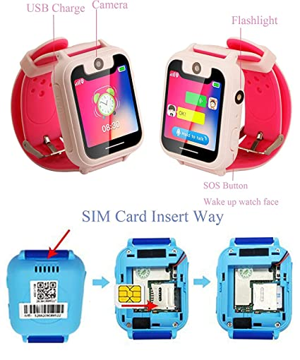 Amazon.com: Kids Smart Watch Phone, SZBXD 1.44