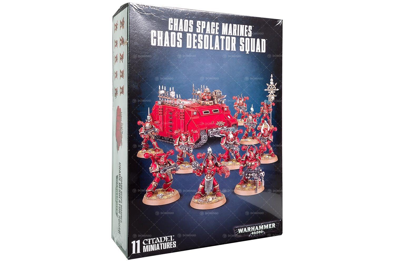 Chaos Space Marines Chaos Desolator Squad
