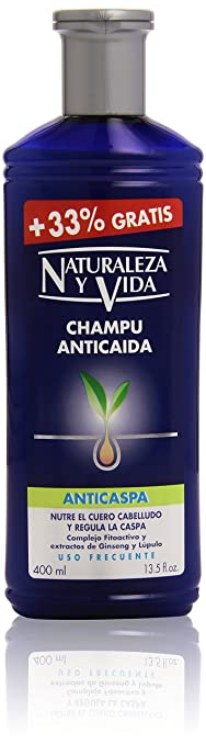 N VIDA CHP ANTIC 300+100ML CASPA