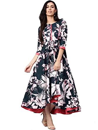 67df9f2d4f Dream Angel Fashion Womens Tunic Top to Wear with Leggings Kurta Kurtis  Indian Party Wear at Amazon Women's Clothing store: