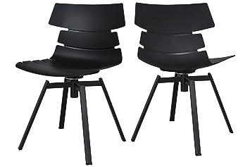 Esszimmerstuhl Modern canett furniture victor 2er set esszimmerstuhl modern design