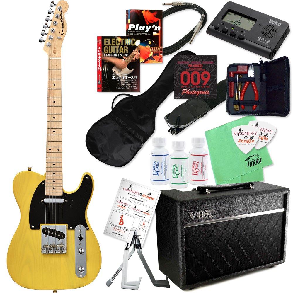 Compact Guitar コンパクトギター CTL-50s & VOXアンプ ミニサイズエレキギター入門20点セット (BBD/M/PF10SB) B078S15FL3 BBD/M/PF10SB BBD/M/PF10SB