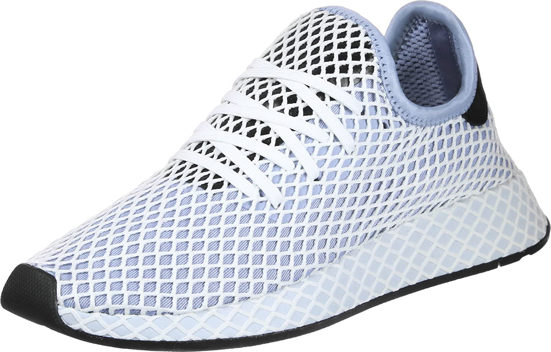 adidas Deerupt Runner Damen Sneaker Blau/weiss/schwarz, 36 2/3