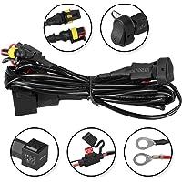 Para R1200GS F800GS / ADV Luces de niebla del LED del arnés del cableado Fusible de encendido/apagado