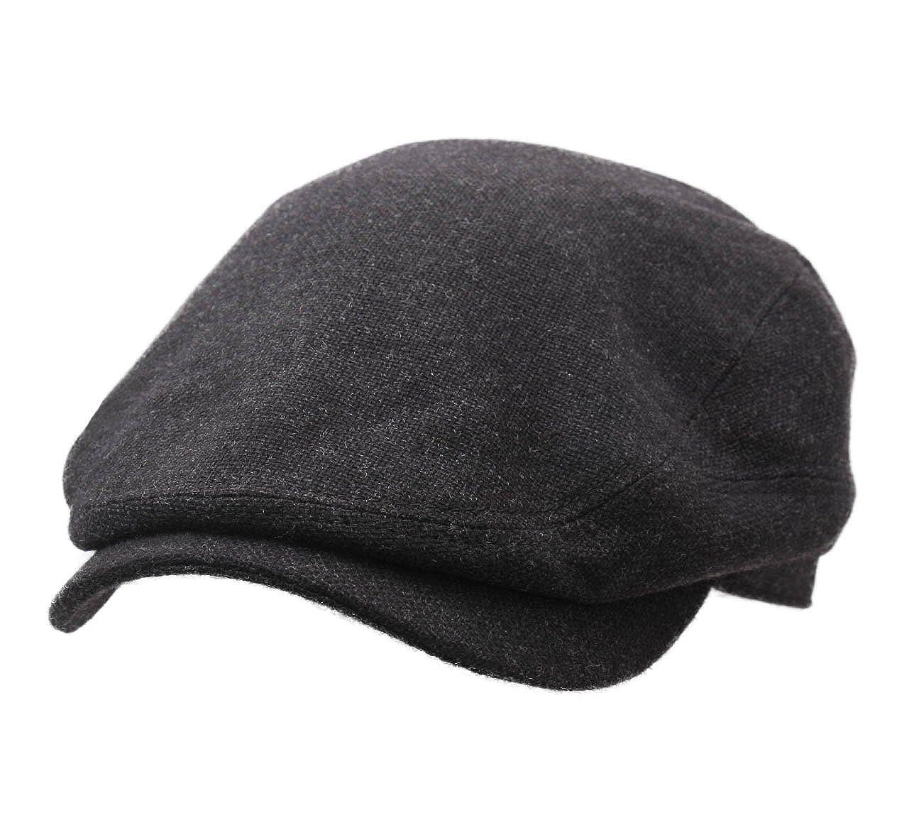 9e93fec25 Stetson Men's Driver Cap Virgin Wool/Cashmere Flat Cap Size M at ...