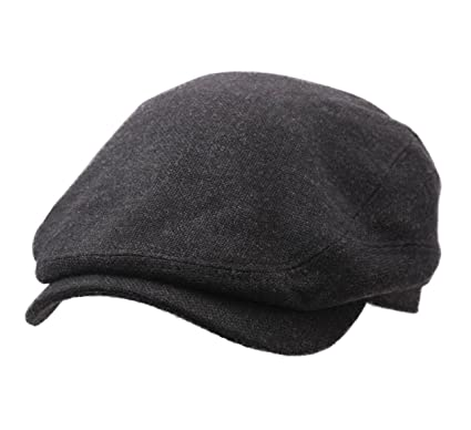 b1cf379f6 Stetson - Flat Cap Men Driver Cap Virgin Wool/Cashmere: Amazon.co.uk ...