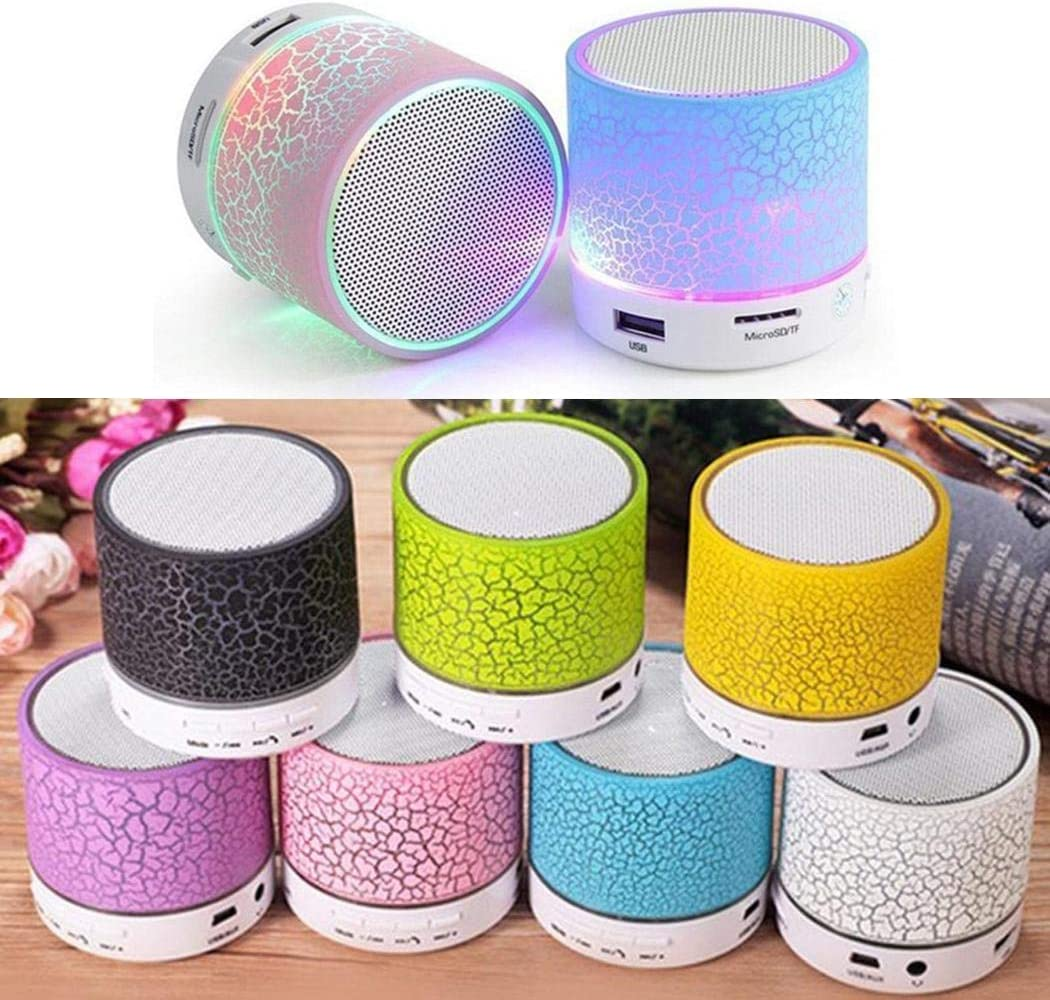 Bravet Portable Mini Rechargeable Wireless USB Bluetooth Speaker Mobile Phone Surround Sound Systems Speaker