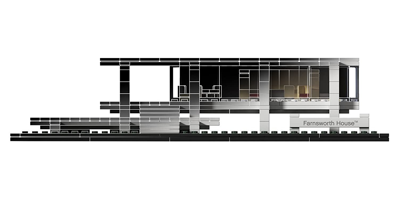 amazon com lego architecture farnsworth house collectible 21009