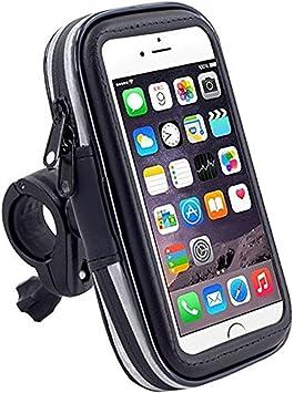 DaoRier Agua Densidad Bicicleta Moto Bike Carcasa universal Soporte Bicicleta Manillar Soporte para teléfono móvil impermeable para iPhone 4 4S 5 5 C 5S: Amazon.es: Electrónica