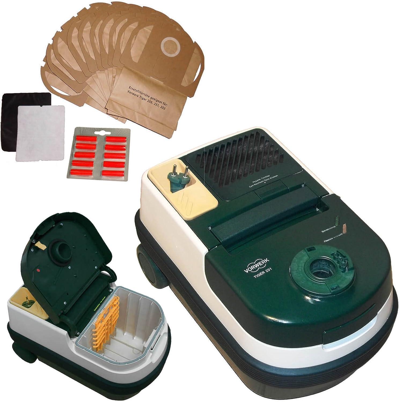 Vorwerk Tiger 251 Grun dispositivo ink. geeigneten Filtración 10 x ...