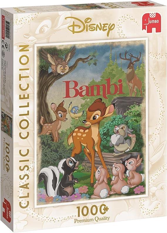 Disney Classics Ravensburger RVB19677 Puzzle da 1000 Pezzi Bambi