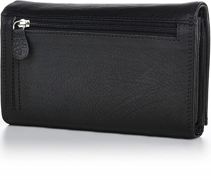 BxHxT PHIL+SOPHIE Damen Geldbörse Leder Portemonnaie 15x10x3,5cm