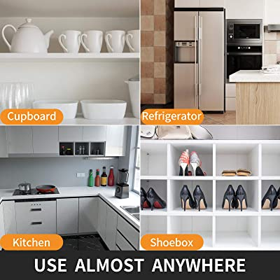 Buy Shelf Liner For Kitchen Cabinets 12 Inch X 25 Ft Double Sided Non Slip Drawer Liner Non Adhesive Cabinet Liner Washable Refrigerator Mats For Pantry Cabinet Storage And Desks Clear Ribbed Online