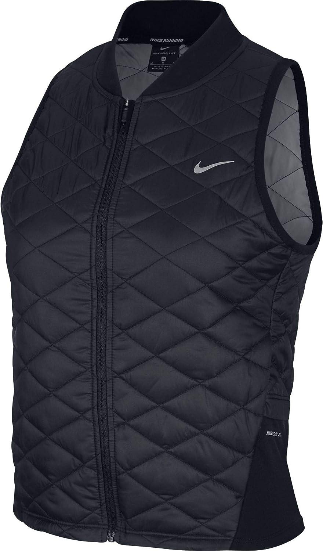 Mujer, Black//Atmosphere Grey Nike W NK AROLYR Vest Chaleco