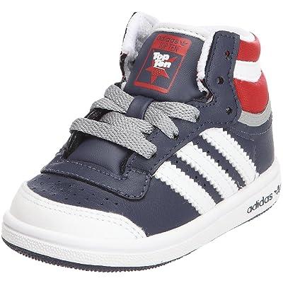 quality design c1494 4879d adidas Originals Top Ten Hi I, Chaussures basses mixte bébé