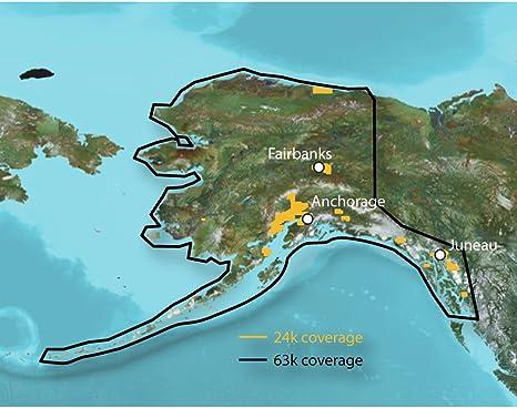 Garmin TOPO Alaska mejorado - Mapa para GPS: Amazon.es: Electrónica