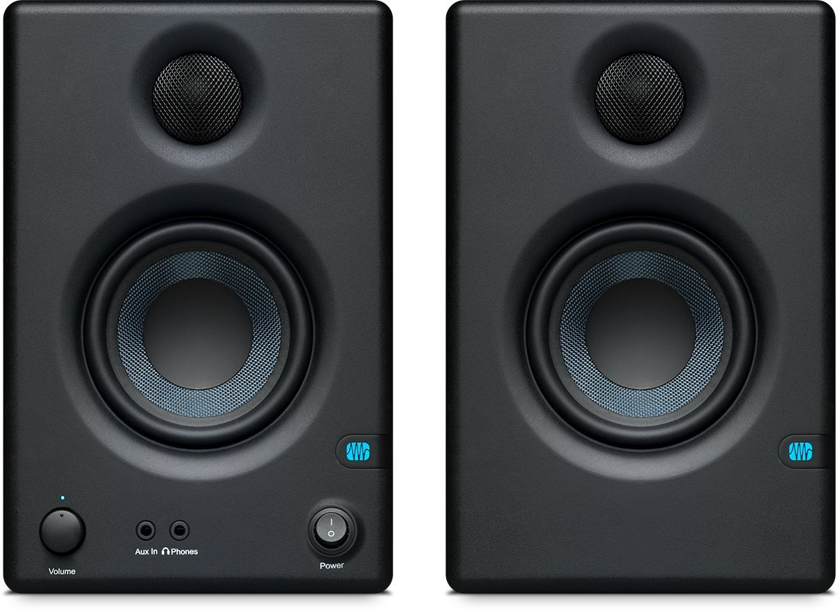 PreSonus Eris E3.5-3.5'' Professional Multimedia Reference Monitors with Acoustic Tuning (Pair) by PreSonus