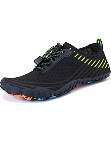 281a6183aecb MAYZERO Summer Water Shoes Men Women Quick Drying Swim Surf Beach Pool Shoes  Wide Toe Hiking