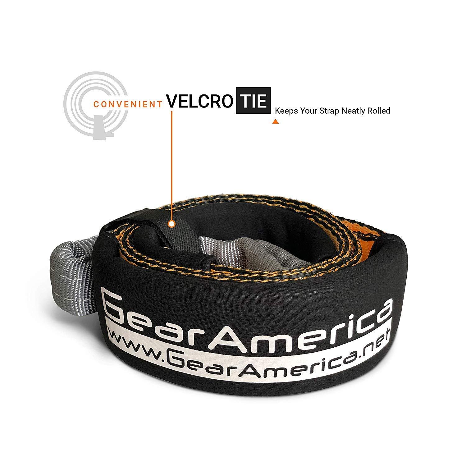 17.5 Tons Recovery Tow Straps 3 x20 Emergency Off Road 4x4 Towing GearAmerica Heavy Duty Lab Tested 35,054 lbs Protective Sleeves Strength 2PK Triple Reinforced Loops Free Storage Bag ALMARO