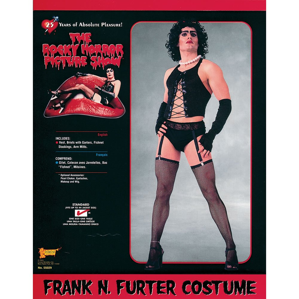 Bristol Novelty AC301 Frank N Furter Costume 906dbfd0c