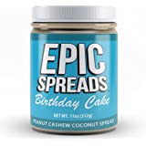 Epic Spreads Nut Butter (Birthday Cake Peanut Cashew Coconut)