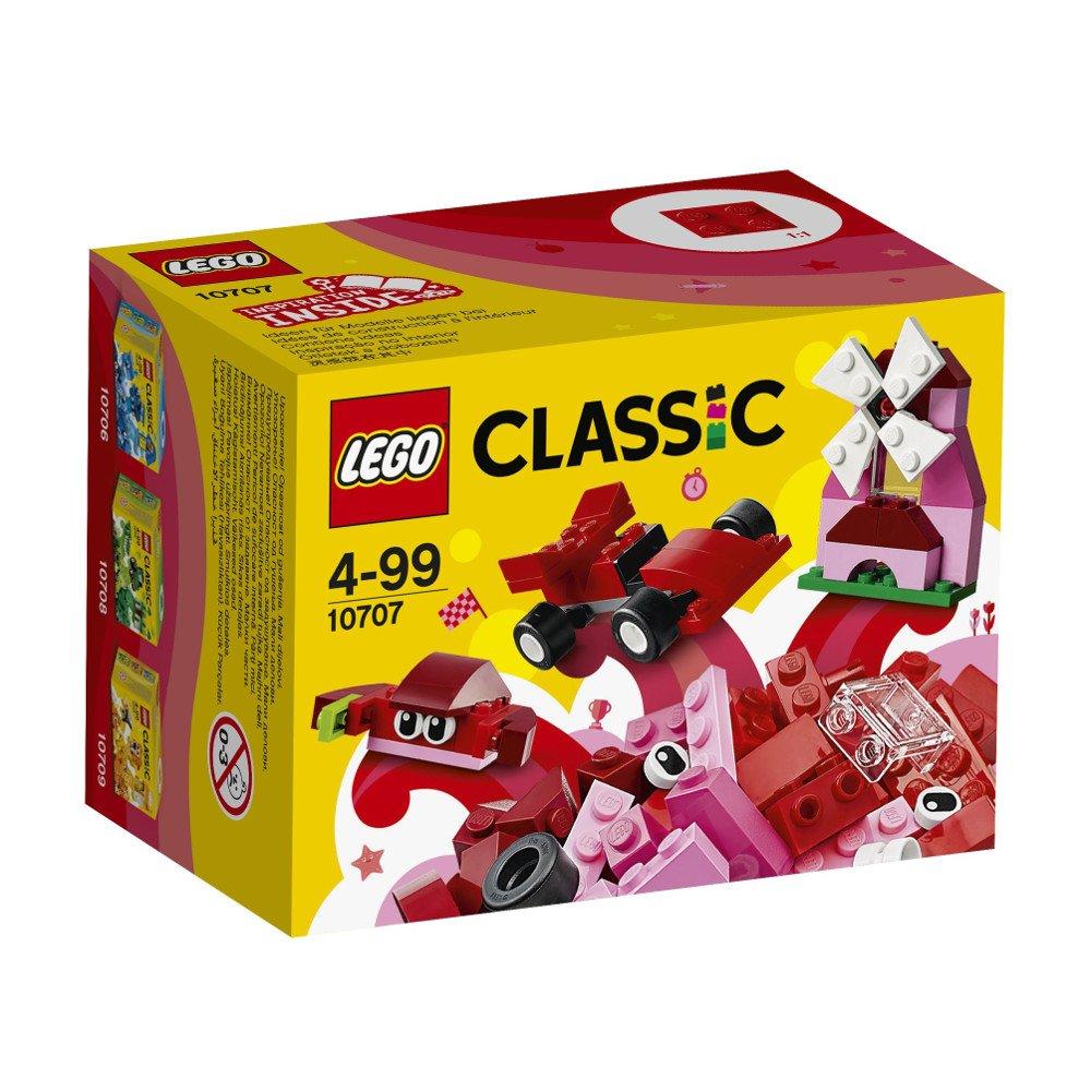 LEGO Classic Caja creativa de color roja