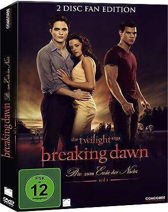 Breaking Dawn Bis S Zum Ende Der Nacht Teil 1 Fan Edition 2 Dvds