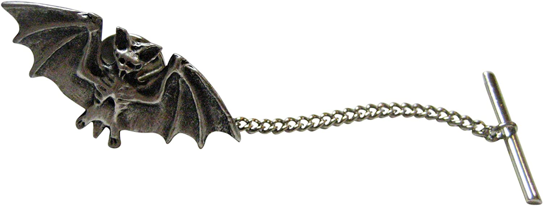 Kiola Designs Small Pewter Bat Cufflinks