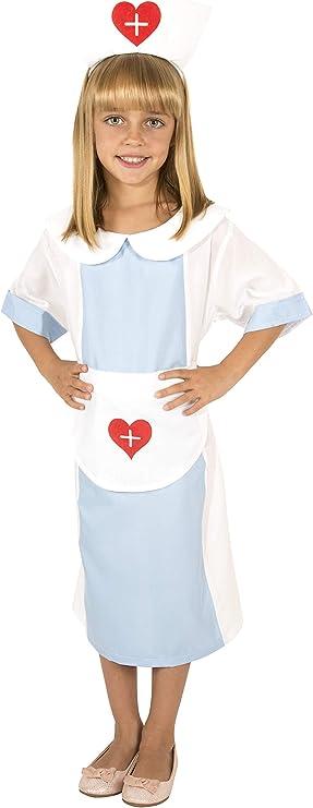 Costumizate! Disfraz de Enfermera Talla 10-12 Especial para niños ...