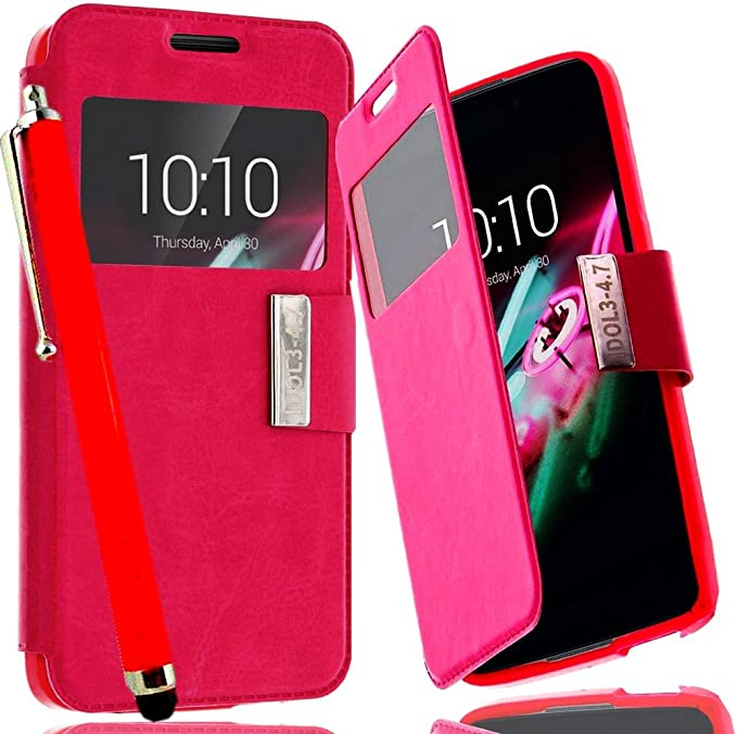 Access-Discount – Funda con tapa Alcatel One Touch Idol 3 4.7 ...