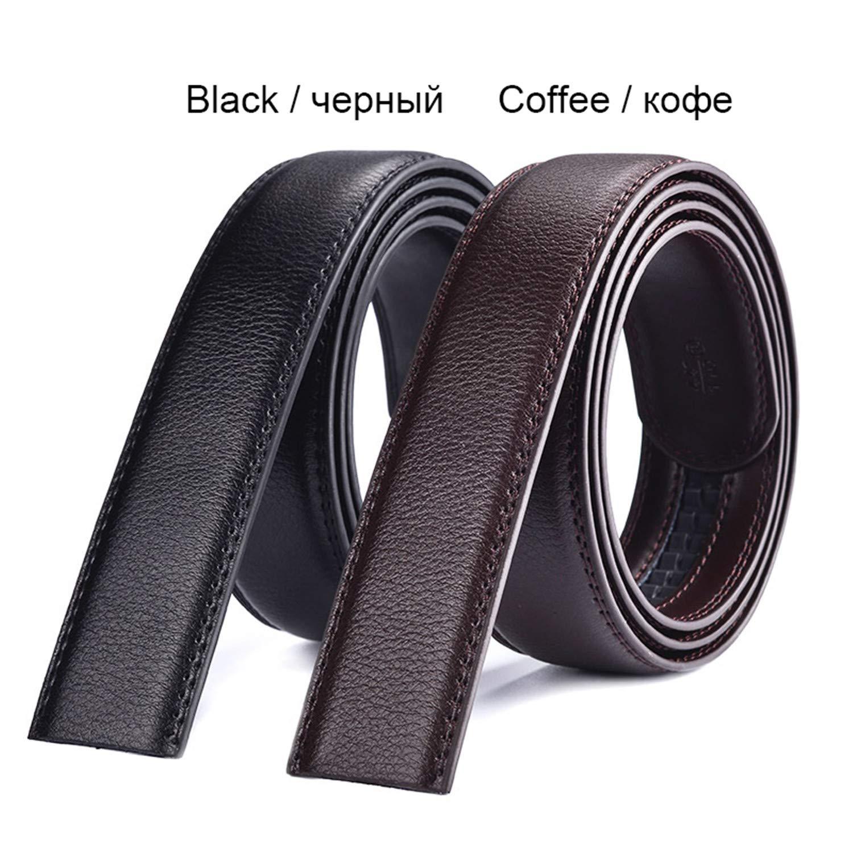 Habitaen Male Belt Automatic Buckle Belts For Men Girdle Wide Waistband