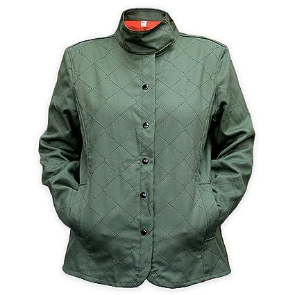aa4f70754b0c Chicago Protective Apparel 625-WQW-M Women s Vegan Welding Jacket ...