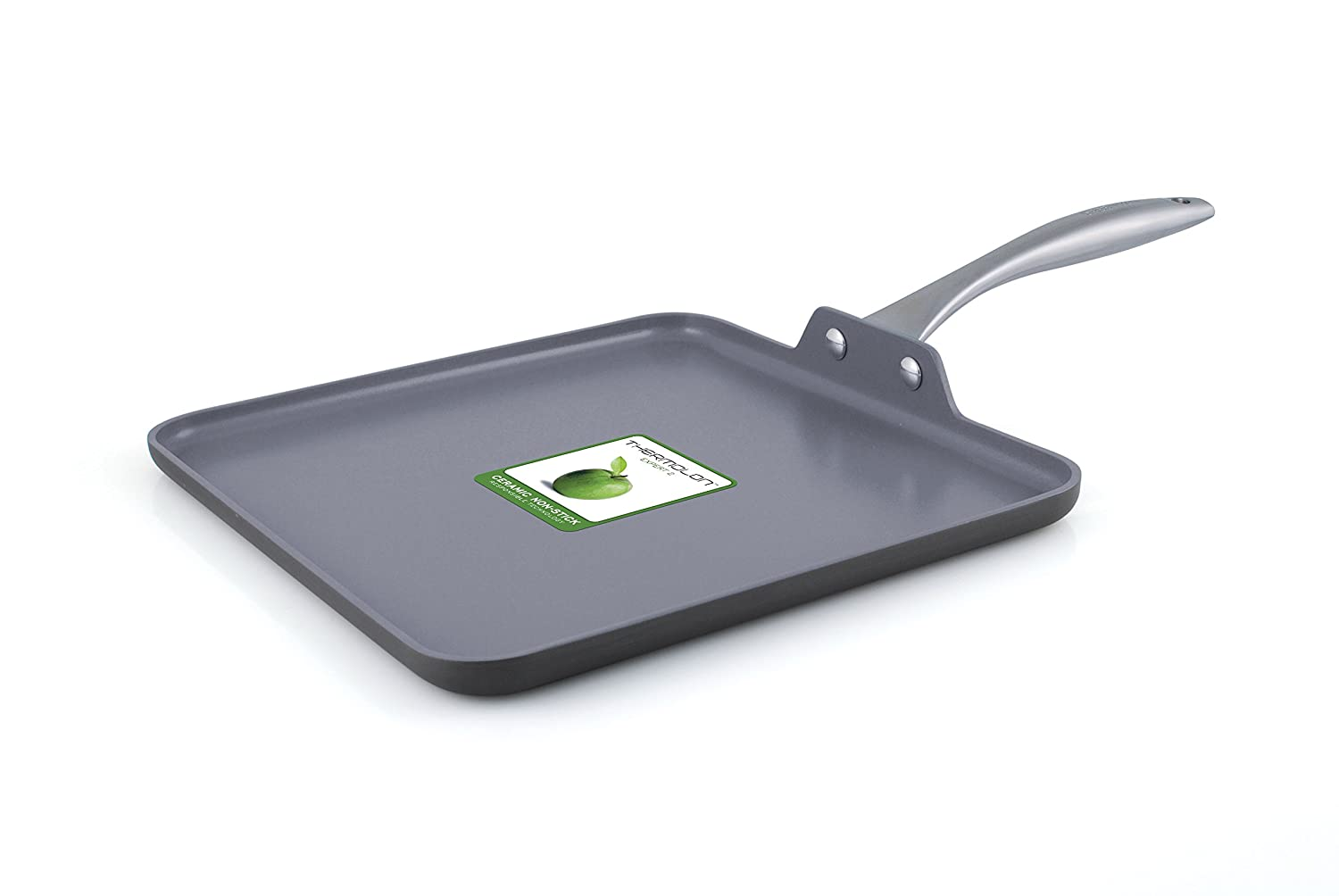 "GreenPan Lima 11"" Ceramic Non-Stick Square Griddle"
