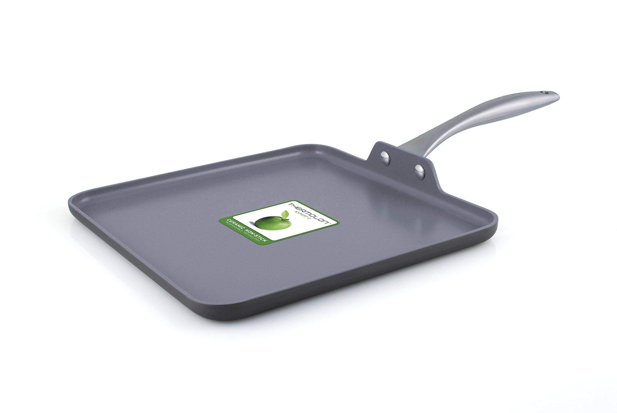 GreenPan Lima 11'' Ceramic Non-Stick Square Griddle