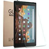 Gylint New Fire HD 10 2019 Screen Protector Glass - Tempered Glass 9H Hardness Scratch Resistant Bubble Free Tempered Glass S
