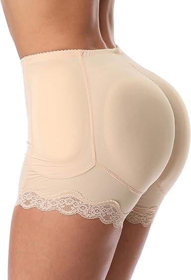 Queenral Shaper Briefs Butt Lifter Pad Woman Push Up Control Panties