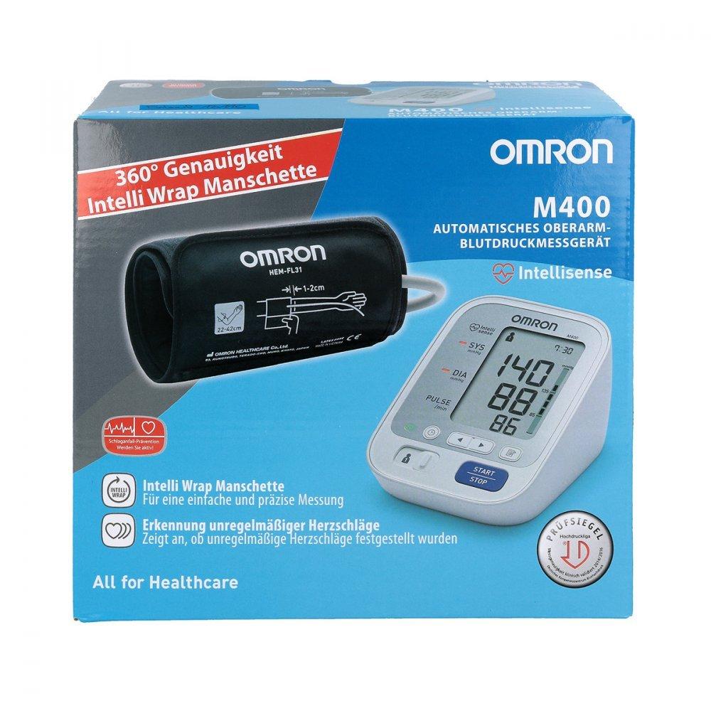 Omron M400 BMG con Intelli Wrap manguito 1 St: Amazon.es: Salud y cuidado personal