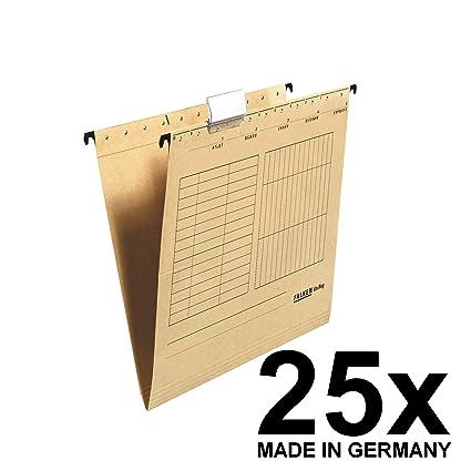 grau H/ängeregister inklusiv 5 H/ängemappen A4 Re-Solution Office Box Jalema 2658026997 farbig sortiert