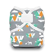 Thirsties Duo Wrap Cloth Diaper Cover, Hook and Loop Closure, Mountain Range Size One (6-18 lbs)