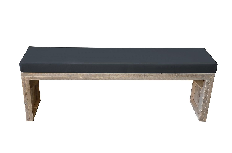 Bench Met Kussen : Wood4you sww bierbank180 incl. zwart kussen 180 cm wooden garden