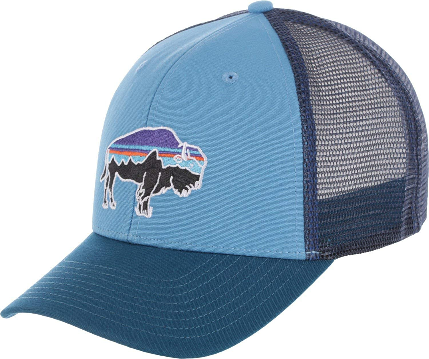 Patagonia Mens Fitz Roy Bison Trucker Hat