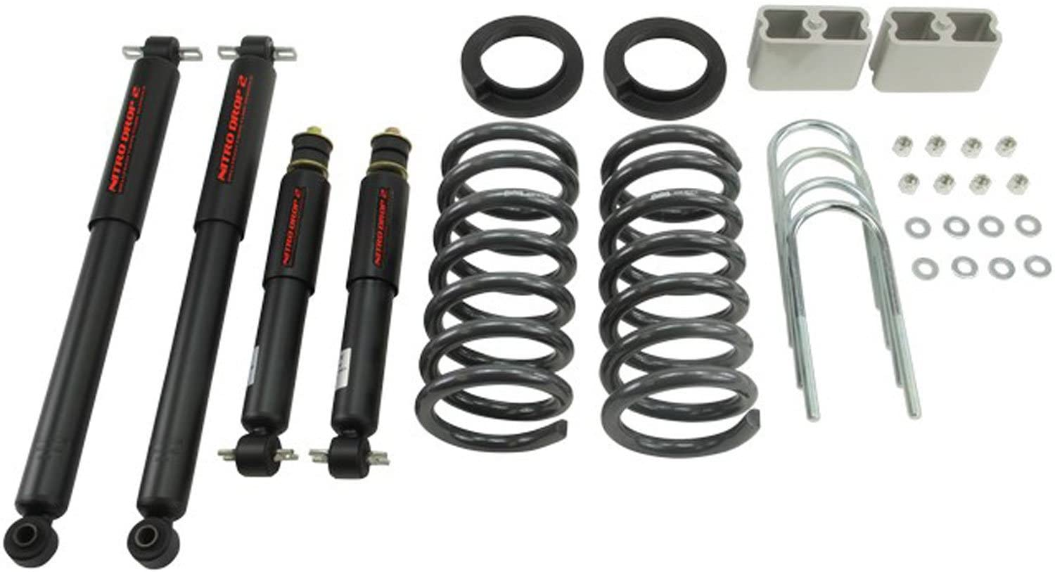 Belltech 621ND Lowering Kit with Nitro Drop 2 Shocks