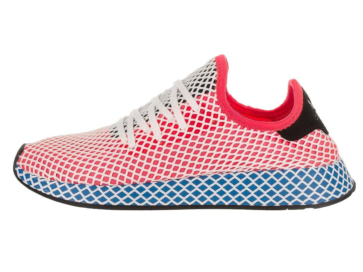 217c184df adidas Men s Deerupt Runner Originals Solar Red Solar Red Bluebird Running  Shoe 11 Men US  Amazon.co.uk  Shoes   Bags