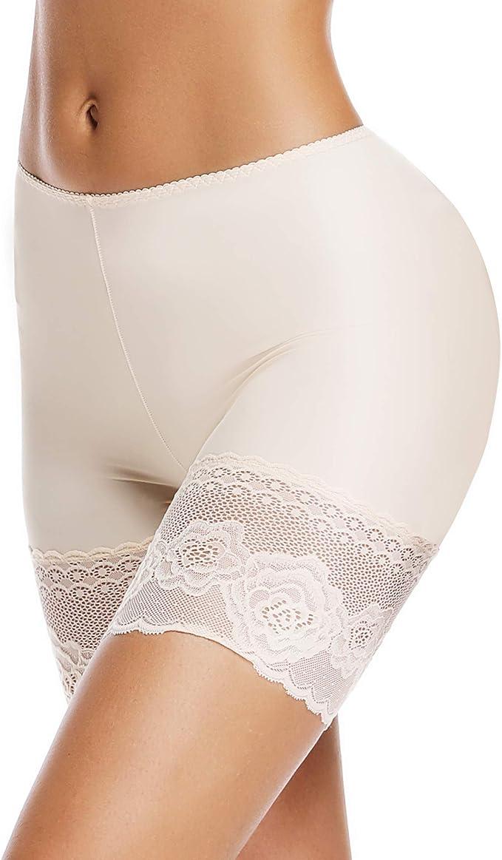 Anti-Scheuern Leggings und Yoga lang nahtlos f/ür Unterkleider Tristin Damen Slip Shorts kurz bequem ultra-weich
